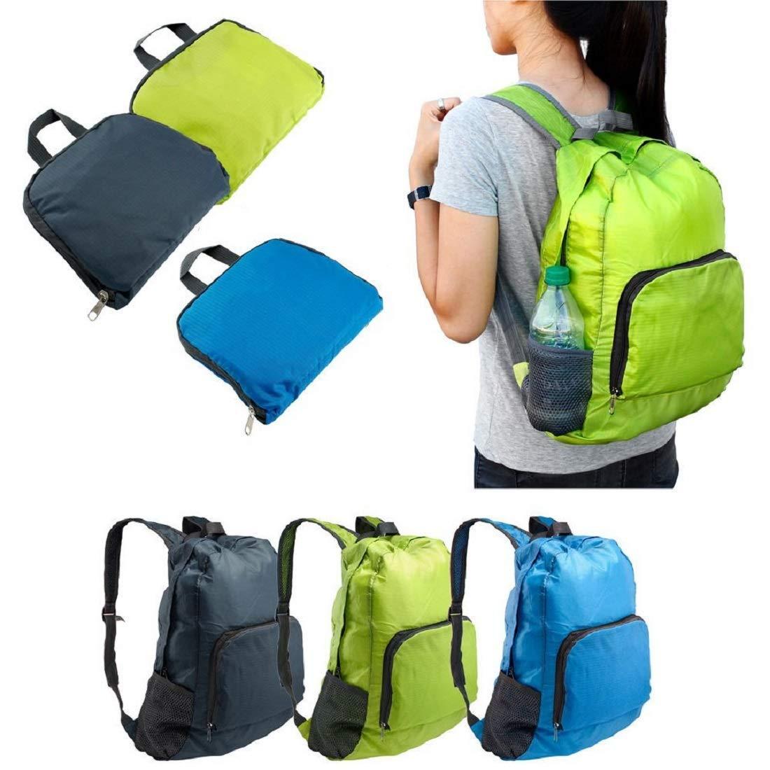 LightWeight Foldable Travel Backpack Bag