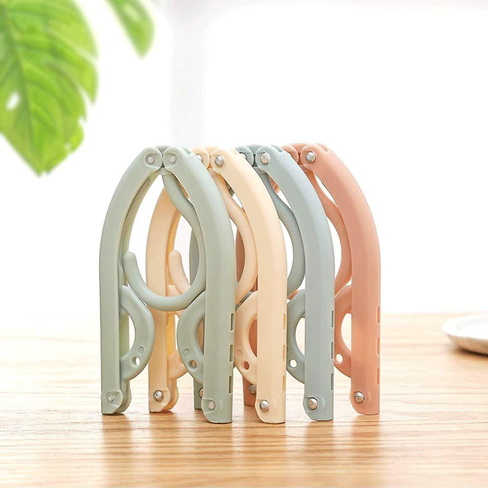 AN AMAZING COMPACT SOLUTION TO HANG OR DRY YOUR CLOTHES WHILE TRAVELING OR AT HOME (SET OF 10 Pcs)