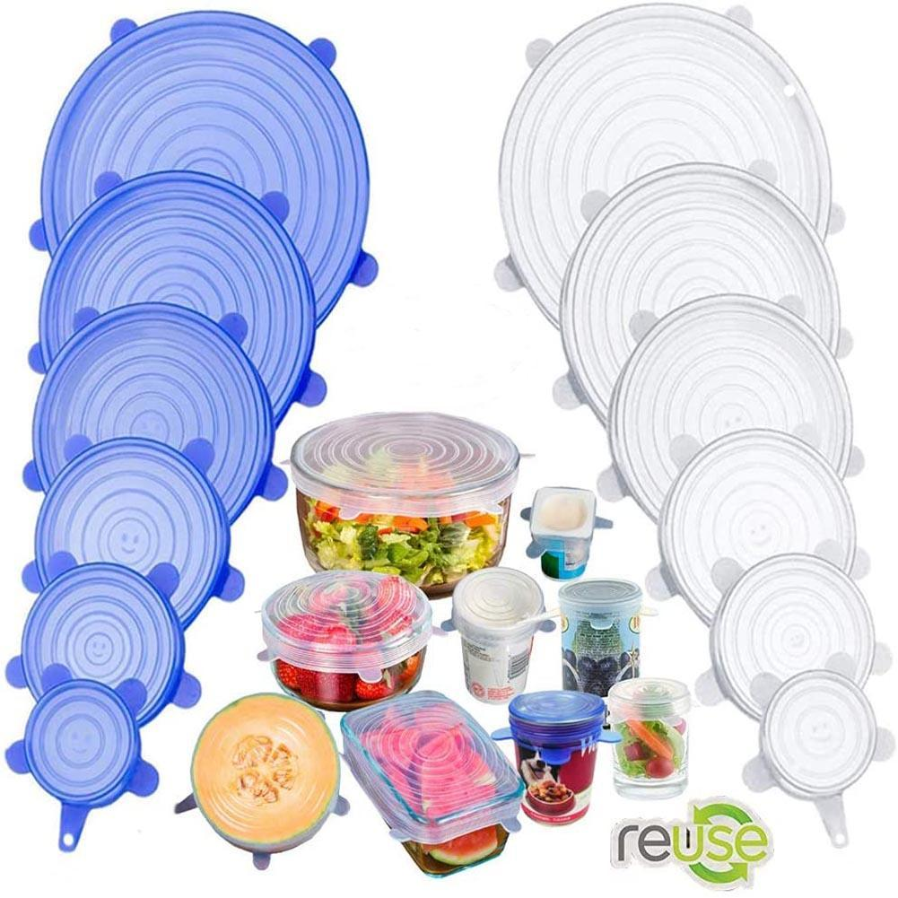 KMASTER™ SILICONE COVER STRETCH LIDS