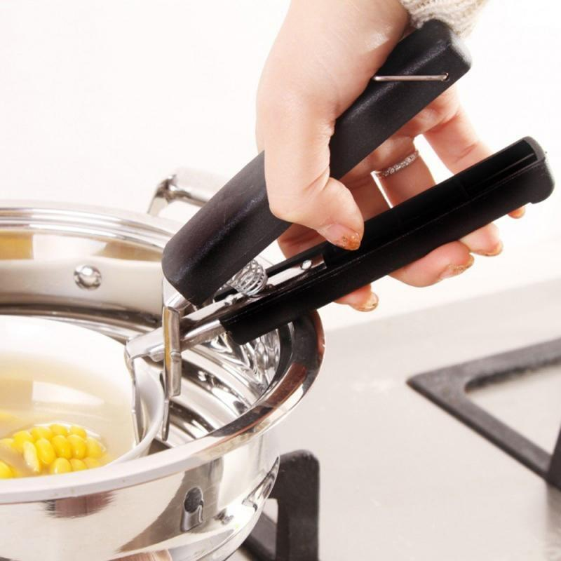 KitchenQ™ MAGIC STEEL DISH HOLDING CLAMP
