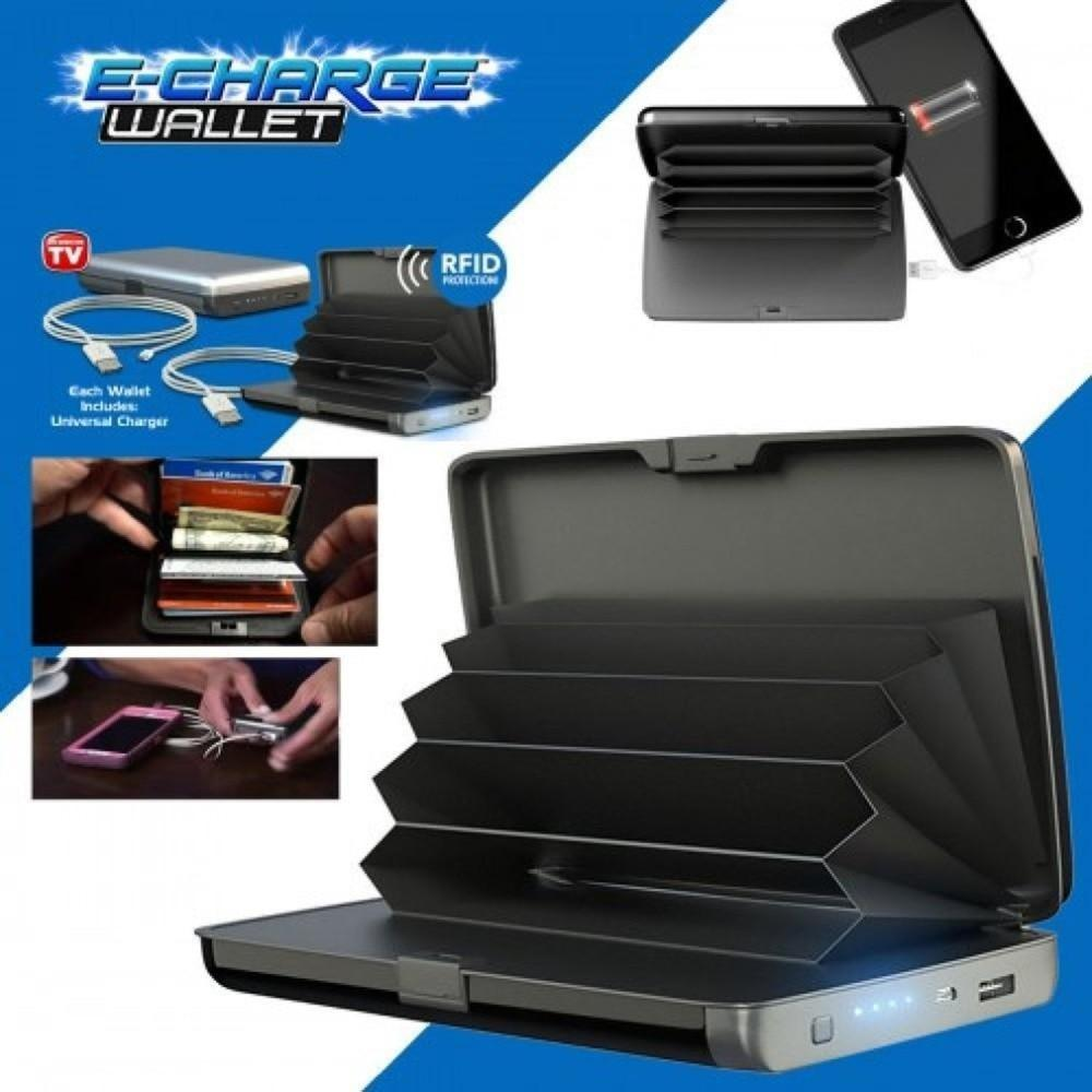 2 in 1 Pocket E-charge Wallet