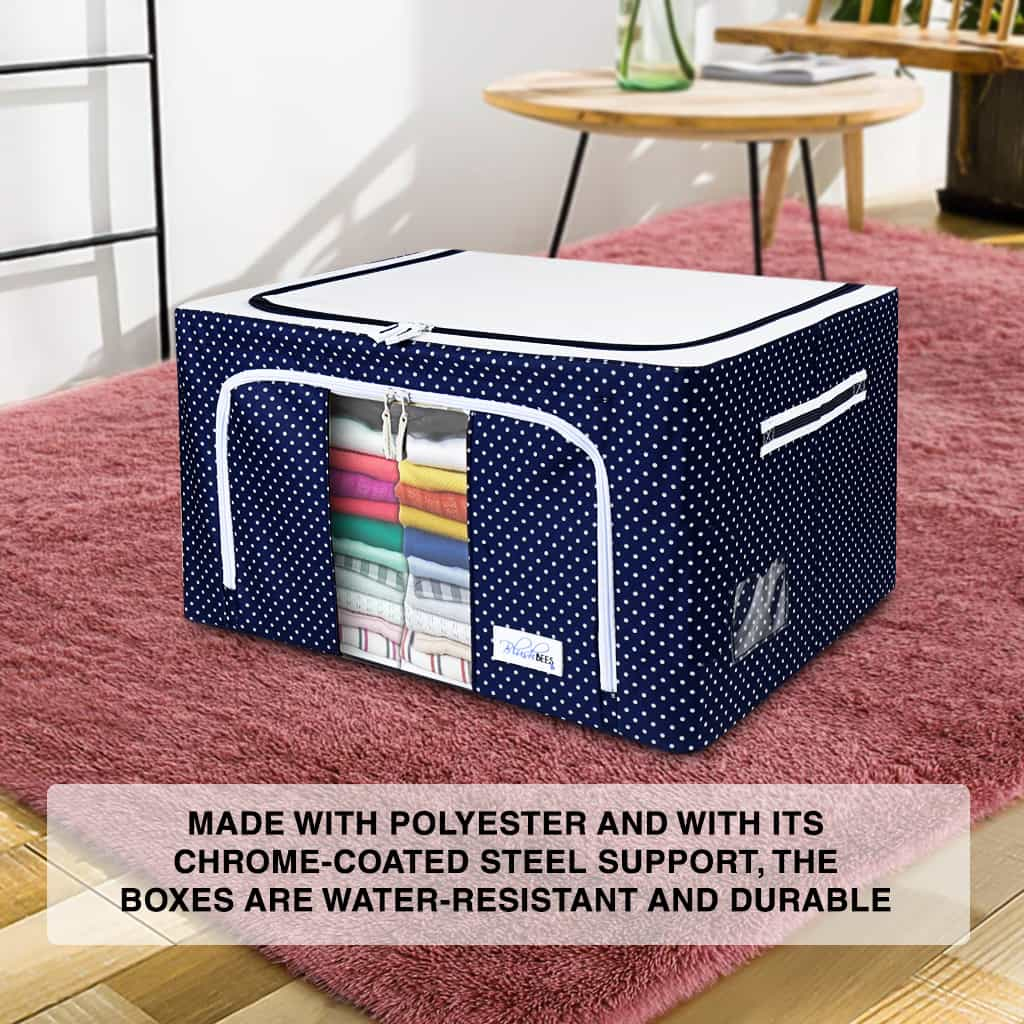 Oxford Fabric Storage Boxes For Clothes,