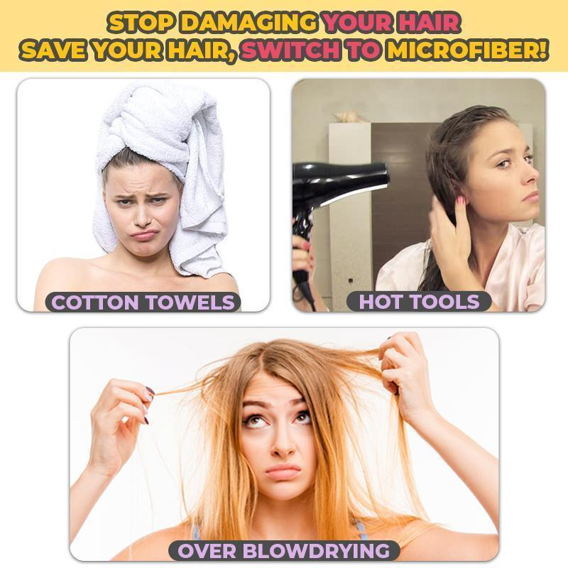 SPEEDWICK - Instant Towel Hair Wrap
