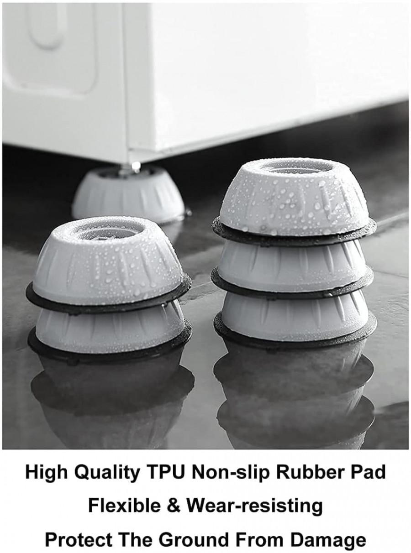 Washing Machine Anti Vibration Pad (4 Piece)